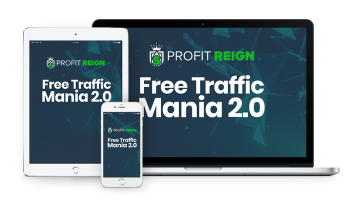 """<strong  style=""""color:#18616e"""">Bonus #1 - Free Traffic Mania 2.0</strong>"""