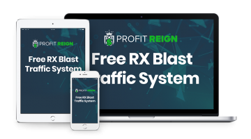 """<strong  style=""""color:#18616e""""> Bonus #4 - Free RX Blast Traffic System</strong>"""